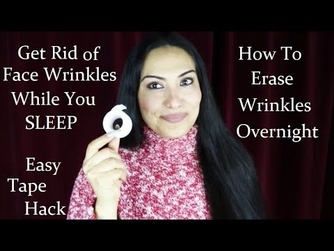 How To Get Rid Of Face Wrinkles Overnight 😴 No Botox