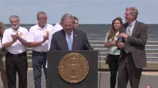 Menendez Visits Union Beach to Push Sweeping Flood Insurance Reforms
