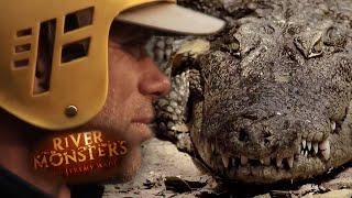 Mean Mugger Crocodile - River Monsters