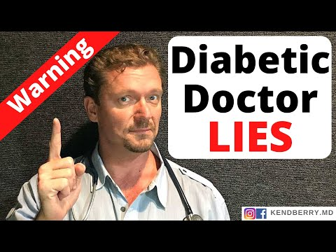 Lies Doctors Tell Diabetics: Medical Myths That Can Harm Your Health