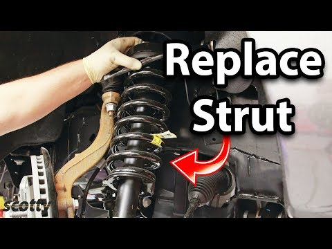 How to Replace Suspension Struts in Your Car
