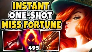 WTF! THIS MISS FORTUNE BUILD IS BEYOND BROKEN! UNREAL AMOUNTS OF DAMAGE!!!   League Of Legends