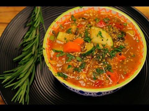 The Best Quinoa Vegan Soup Ever – vegan recipe – healthy recipe channel – weight loss recipes