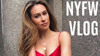 NYFW Vlog | Mac Duggal Show | Dani Walker