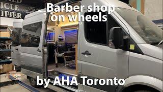 Mobile Barber Shop in a Sprinter