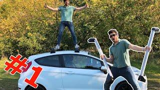 Dachgepäckträger & Dachleisten Ford Fiesta II Der Weg zum Camper II loopyrider
