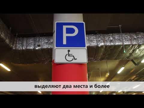 Размер парковочного места