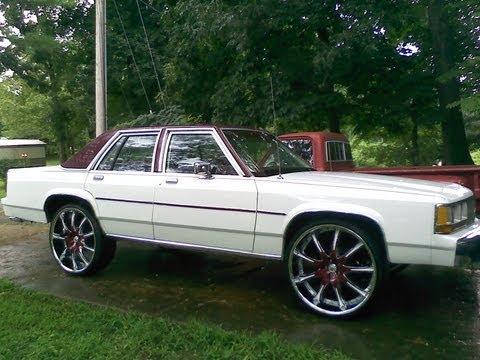 "Sold   91 LTD donk on 26 "" wheels"
