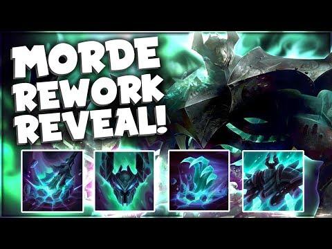 NEW Mordekaiser Rework Gameplay + Abilities Guide! - League of Legends