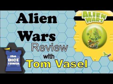 Dice Tower Reviews: Alien Wars