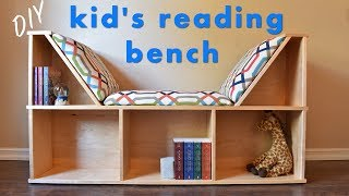 How To Build A Kids Reading Nook W/ No Sew Cushions