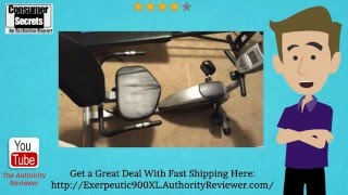 [Review & SALE] Exerpeutic 900XL Extended Capacity Recumbent Bike with Pulse