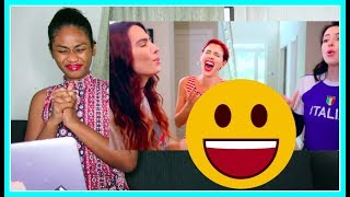 Cimorelli - One Direction - Medley (SING OFF)   Reaction