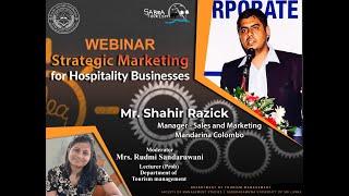 Strategic Marketing for Hospitality Business