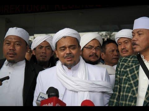 Keterangan Eggi Sudjana Pasca Rizieq Shihab Ditetapkan Tersangka