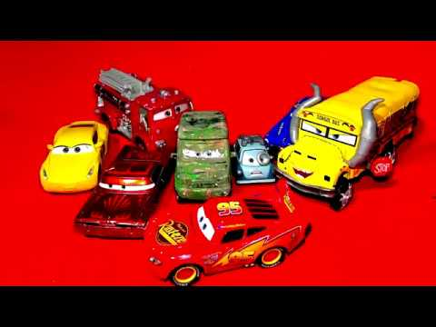 Pixar Cars 2018 Halloween Special With Miss Fritter Professor Z Lightning McQueen And Fabulous Doc