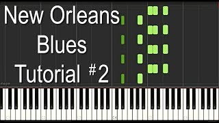 The BEST New Orleans Piano - TIPITINA - Professor Longhair, Dr John Tutorial