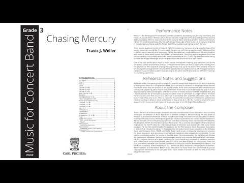 Chasing Mercury (CPS234) by Travis Weller