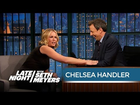 Chelsea Handler's First Experience Trying Marijuana Edibles - Late Night with Seth Meyers
