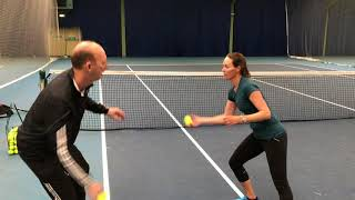Tuesday Tennis Tip: Great warm up exercise