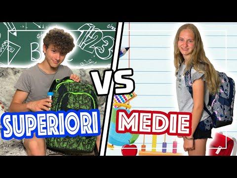 SUPERIORI Vs MEDIE - DIFFERENZE a SCUOLA - RAGAZZI Vs ADOLESCENTI @Ceci Official