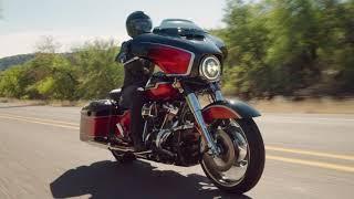 2021 new CVO Street Glide 117 Harley-Davidson - Sunset Orange Fade & Sunset Black