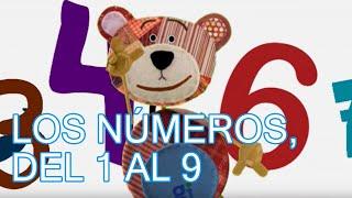 Los números, del 1 al 9. Canción infantil, música para niños