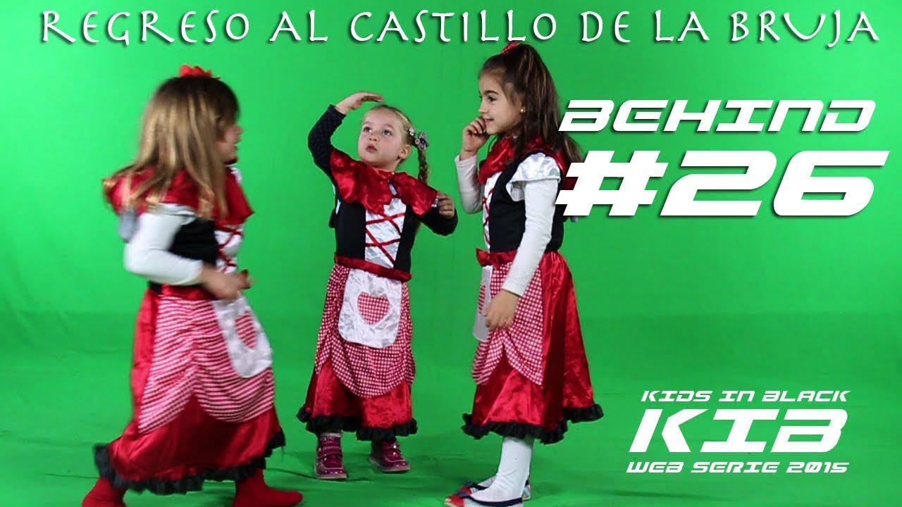Regreso al Castillo de la Bruja - Kids In Black 2015 - Detrás de las cámaras #26