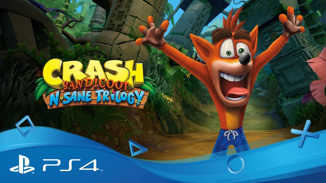 La Crash Bandicoot N. Sane Trilogy sortira sur PS4 le 30 juin