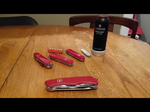 Review: Victorinox Rucksack Swiss army knife.