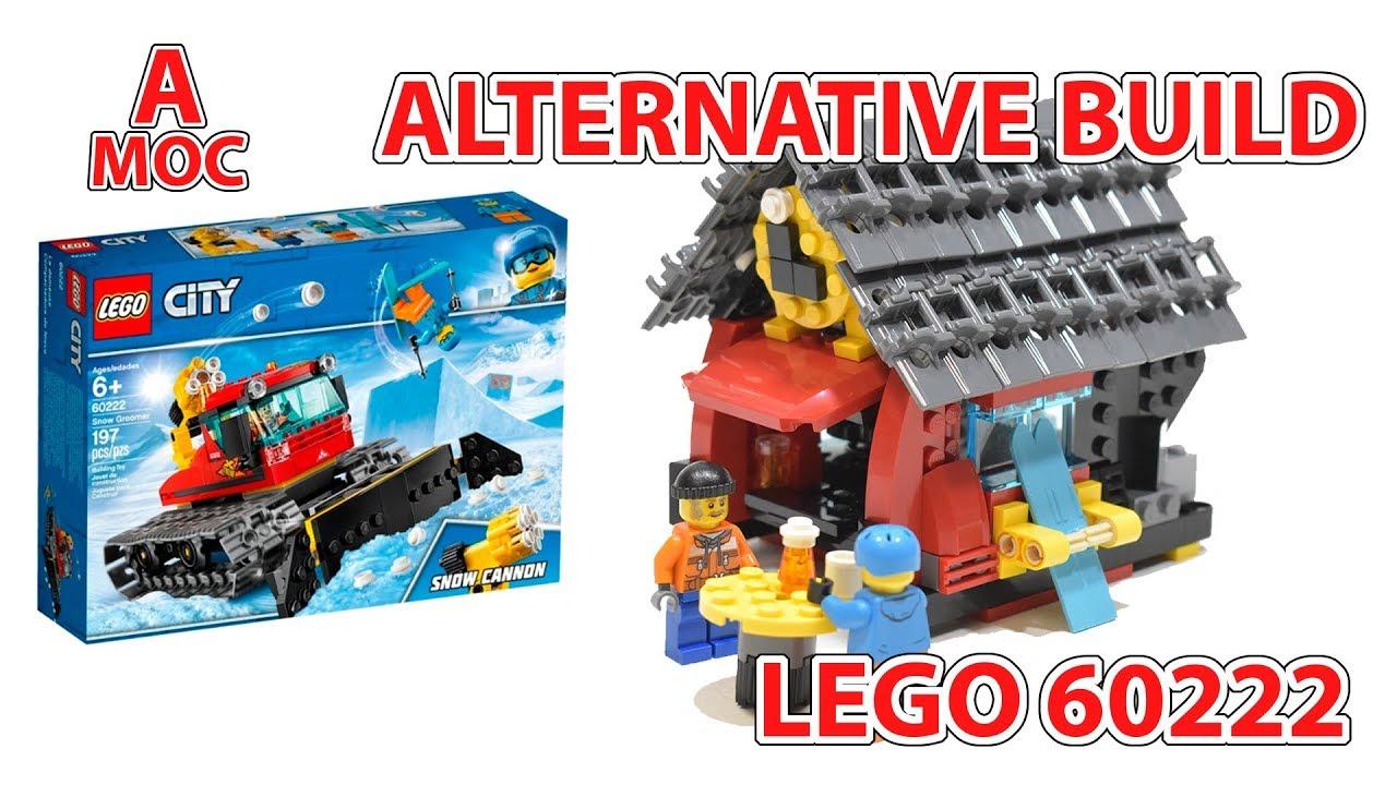 LEGO 60222 Ski resort cafe. Alternative build [A MOC]