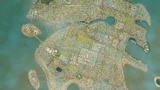 Biggest City in Cities Skylines 2020 (81 tiles maxed out)