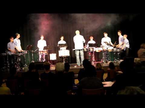 Slagwerkgroep Oploo 2012