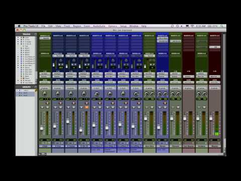Pro Tools Templates | Mixing Rap Hip Hop In Pro Tools Creating Session Templates Part