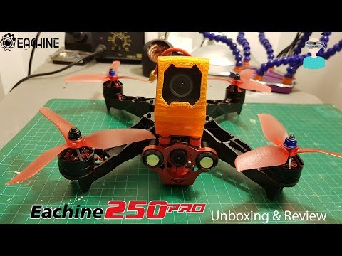 Eachine Racer 250 PRO - Unboxing And Review