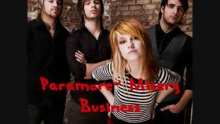 Paramore - Misery Business CHIPMUNK VERSION