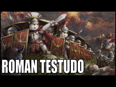 Download Roman Legionnaire Testudo Defense! - ShieldWall: Battle Simulator Mp4 HD Video and MP3