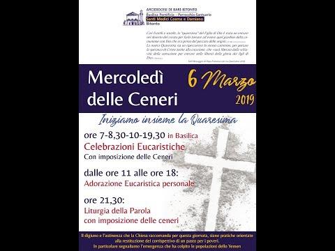 OMELIA PARROCO RETTORE MERCOLEDÌ DELLE CENERI 2019
