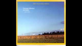 George Winston - Longing From His Solo Piano Album AUTUMN