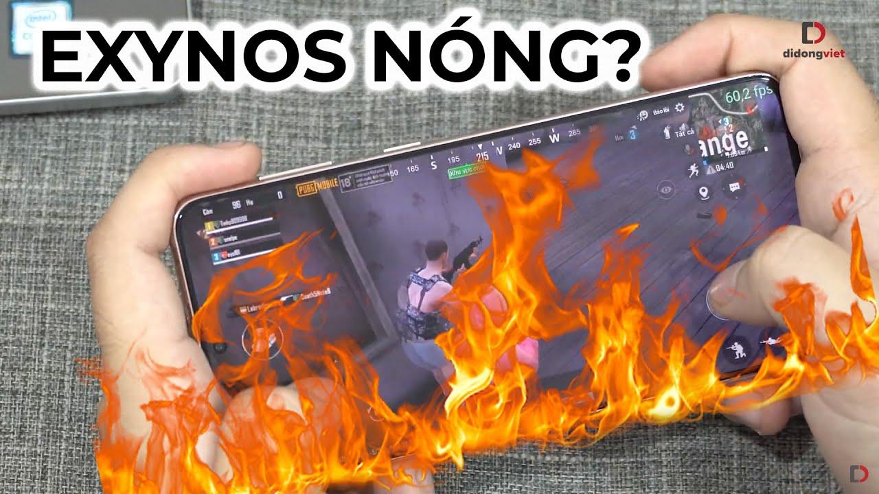 Chơi game trên Galaxy S21 Plus - Exynos đã lột xác?