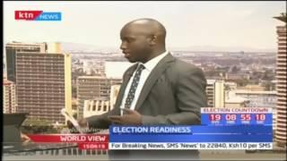 AU chairperson meets Raila Odinga ahead of the elections