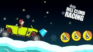Hill Climb Racing ПОСЛЕДНИЙ Гаражный ГИБРИД и АТОМНАЯ СТАНЦИЯ game kids Мульт игра про машинки гонки