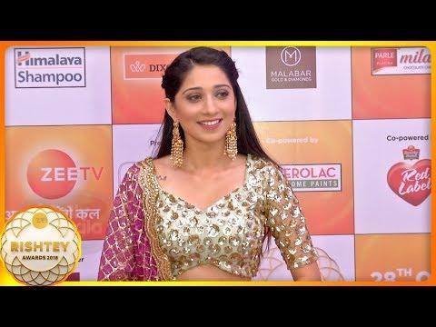 Vrushika Mehta HOT Indian Look At Zee Rishtey Awar
