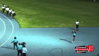 400m専門のラショーン・メリットが200mで快記録!
