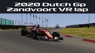 Zandvoort VR Lap In A Formula 1 Car