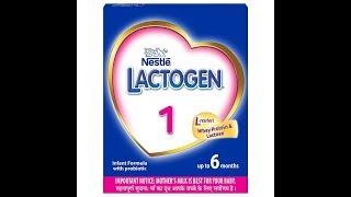 Nestle Lactogen Infant Baby Milk Stage 1 2 3 4 || NESTLE LACTOGEN REVIEW