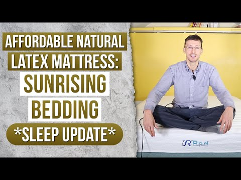 Cheap Natural Latex Mattress: Sunrising Bedding 8-Inch Hybrid *Sleep Update*