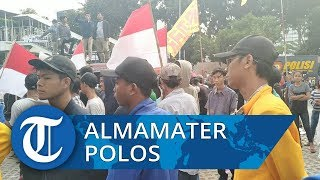 Gunakan Almamater Polos, Laskar Pancasila Gelar Aksi Dukung RUU KPK