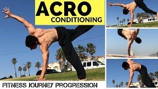 Using Acrobatics + Calisthenics to get in Shape {Arash Progression Series}