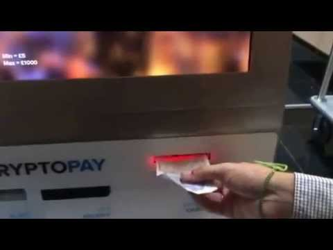 Bitcoin ATM CryptoPay video